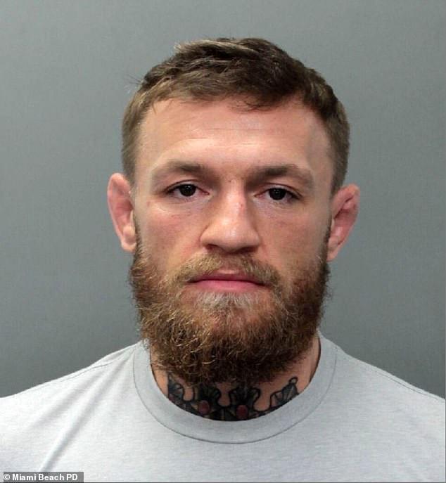 Задержанный Макгрегор. Фото: Daily Mail