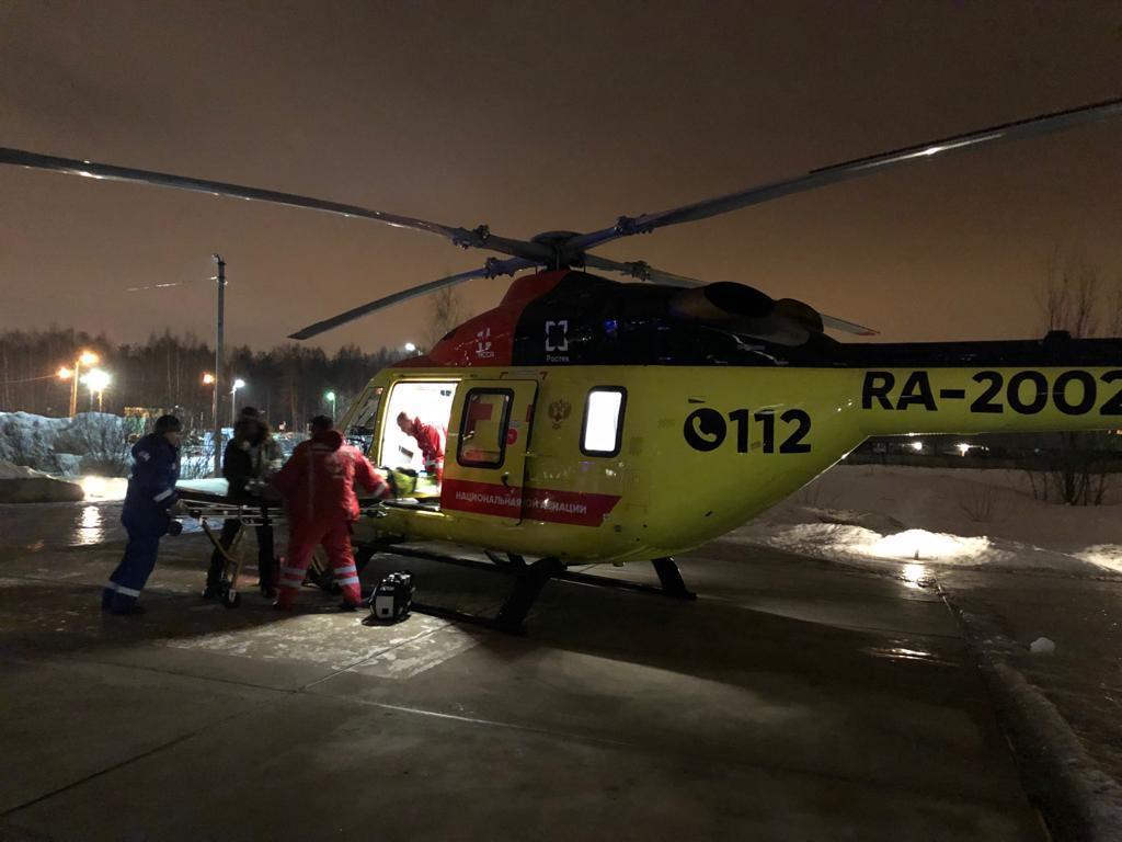 Его доставили в научно-исследовательский институт имени Джанелидзе в Санкт-Петербург. Фото: https://vk.com/san.aviacia