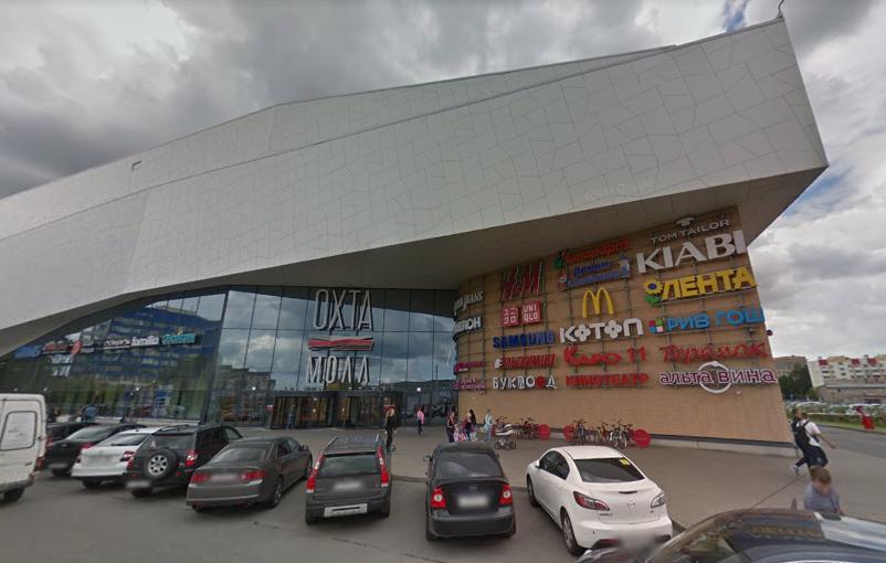 Товары пропали из магазина на первом этаже ТЦ. Фото: Google Maps