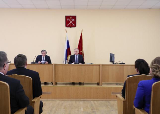 Беглов рассказал, как будет осуществляться благоустройство районов Северной столицы