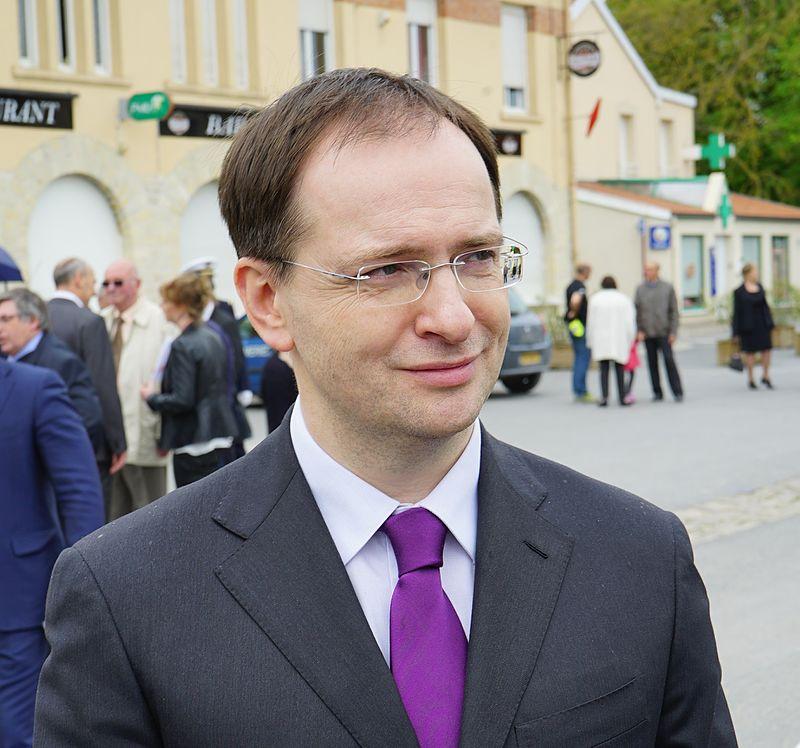 Владимир Мединский Фото: wikipedia