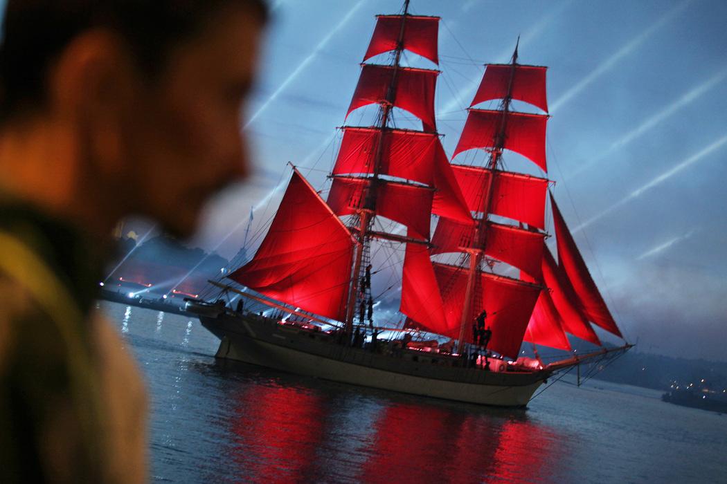 Алые паруса. Фото: Baltphоto/Дарья Иванова