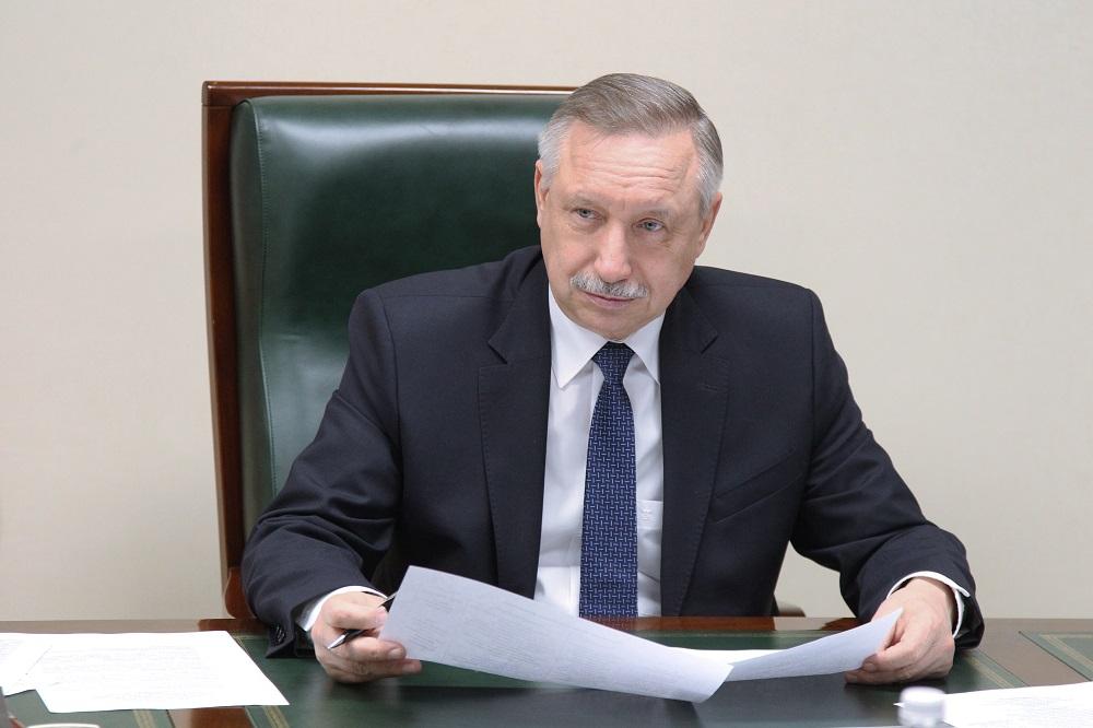 Александр Беглов. Фото: gov.spb.ru