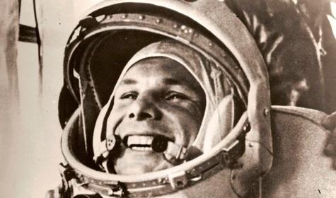 Ко Дню космонавтики на Дворцовом мосту будут транслировать портрет Юрия Гагарина