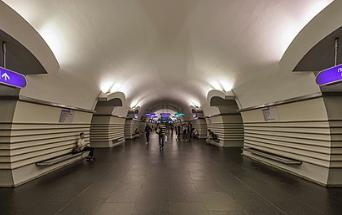 Также недоступен для пассажиров метро переход на другую линию метрополитена. Фото: https://ru.wikipedia.org