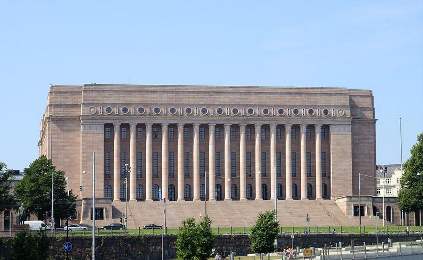 Здание парламента (Хельсинки). Фото: Википедия