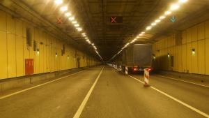 Тоннель под дамбой. Фото: дирекция КЗС СПб