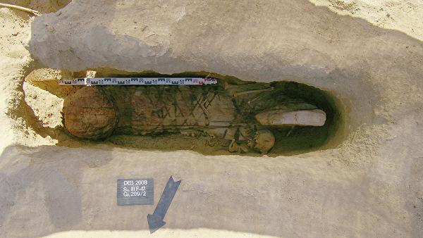 Археологи не знают, какого происхождения был погибший. Фото: РИА Новости