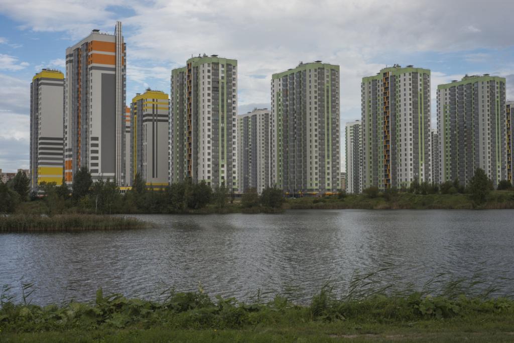 Город обяжет создавать дополнительные зеленоватые зоны при планировании возведения
