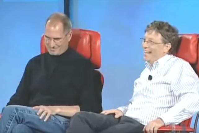 Билл Гейтс поведал о«заклинаниях» Стива Джобса