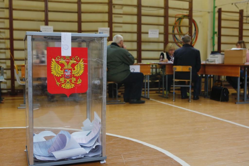 В Петербурге явка на выборы составляет 16,26%