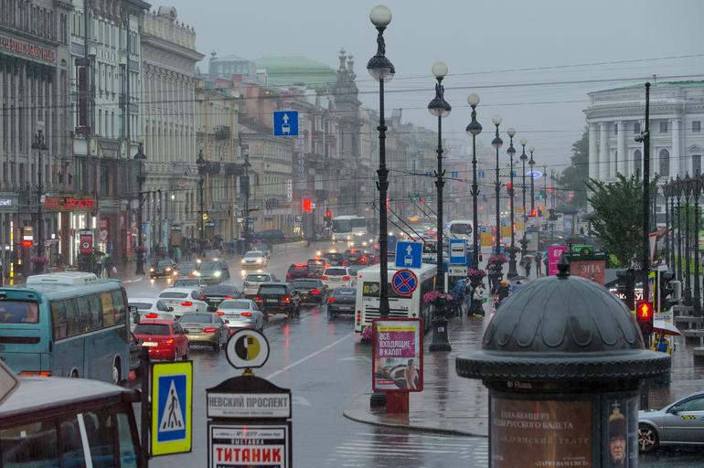 Петербуржцев предупредили о сильном ветре до 18 метров в секунду