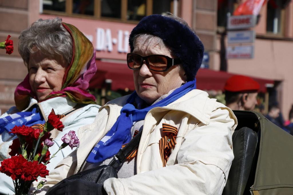 В Петербурге ветераны получат выплату ко Дню Победы