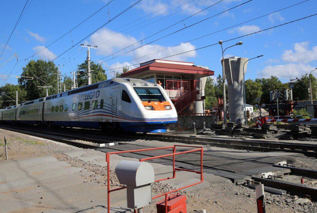 Движение поездов между Петербургом и Хельсинки восстановлено