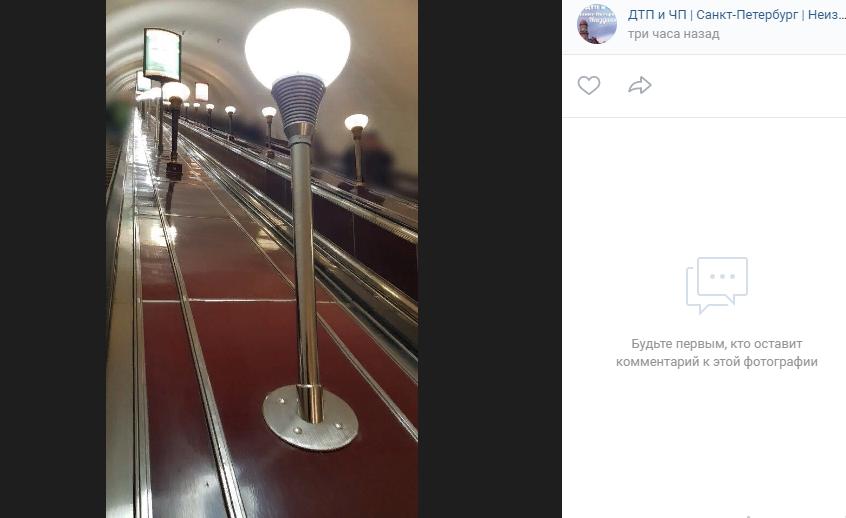 Варламов возмутился заменой светильников на станции «Площадь Ленина»