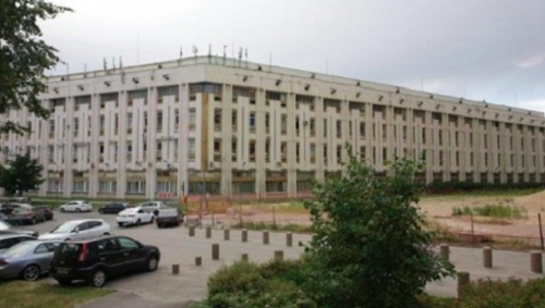 В Петербурге сносят здание «Буревестника»