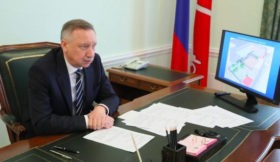 Беглов доложил Путину о реализации нацпроектов в Петербурге