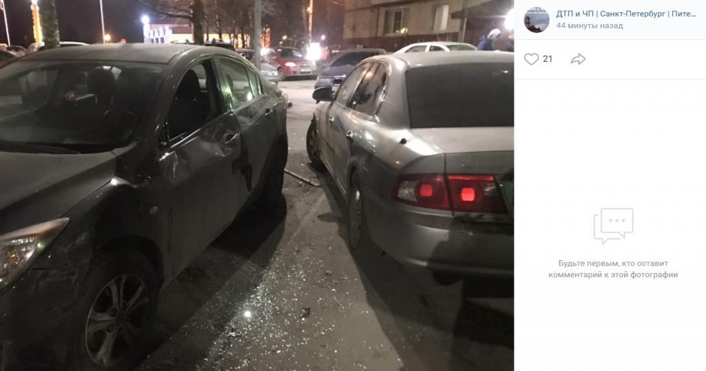 Очевидцы рассказали о пьяной виновнице в ДТП на Будапештской