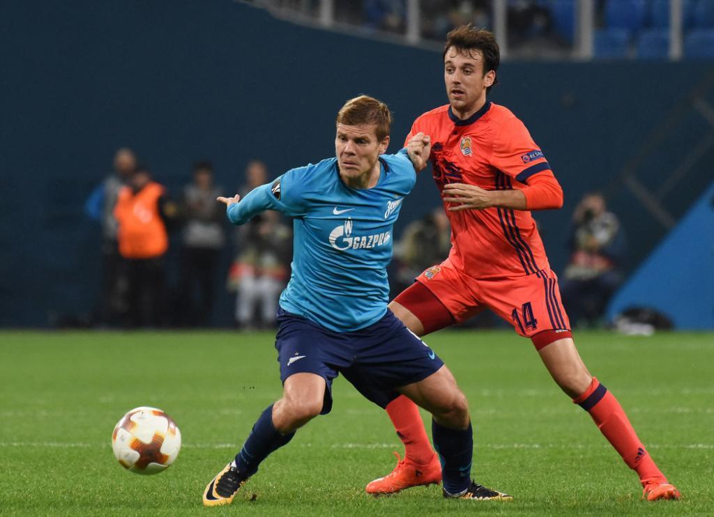 Дриусси назвал Кокорина великолепным футболистом