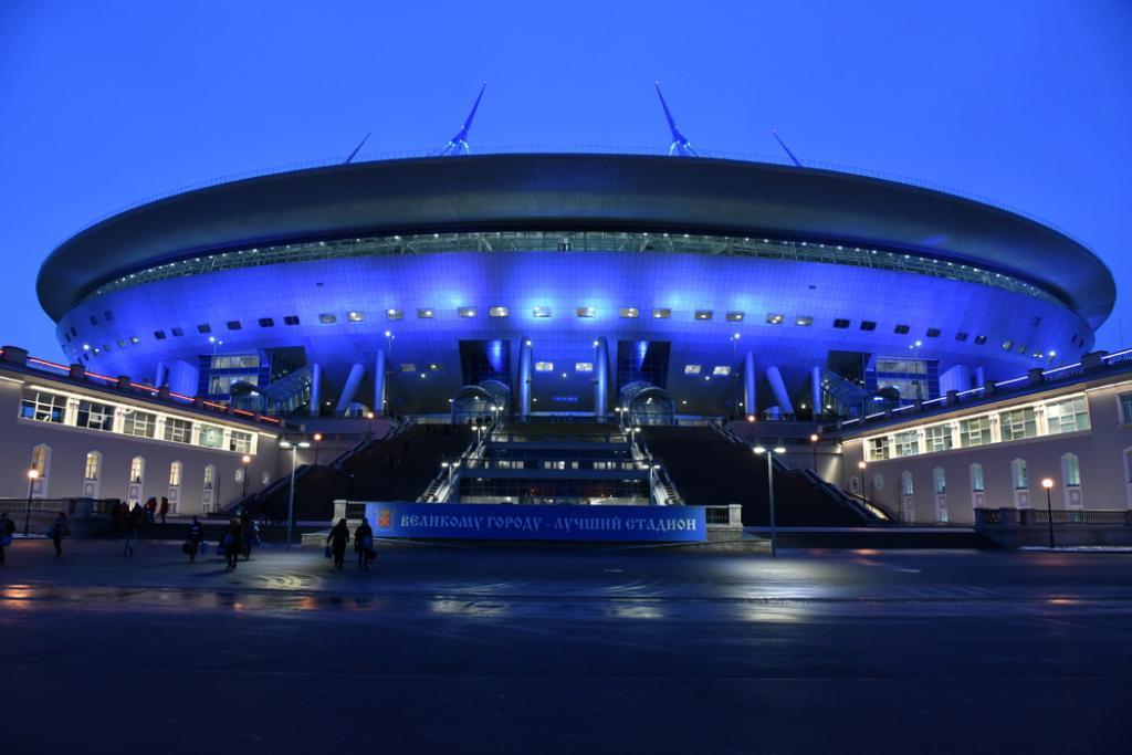 «Зенит» будет играть с «Уралом» на «Газпром Арене» без зрителей