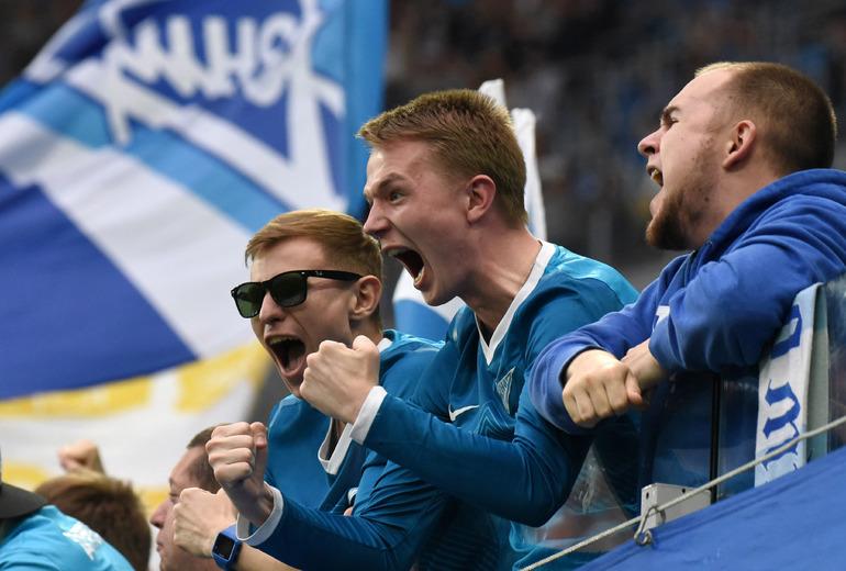 В Петербурге оштрафовали пьяных болельщиков матча «Зенит» — «Лацио»