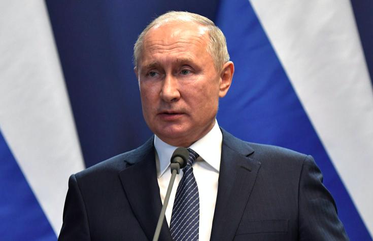 Путин начал обращение к Федеральному собранию с посланием