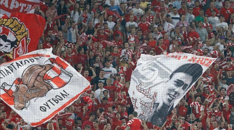 Фанаты «Спартака» призывают зрителей покинуть матчи 19-го тура РПЛ на 30-й минуте