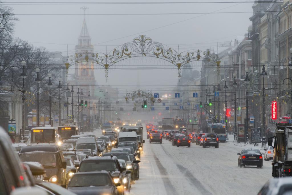 В Петербурге 8 марта ожидаются сильный ветер и снег