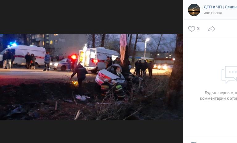 Три человека стали жертвами ДТП на трассе «Роговицы — Калитино»