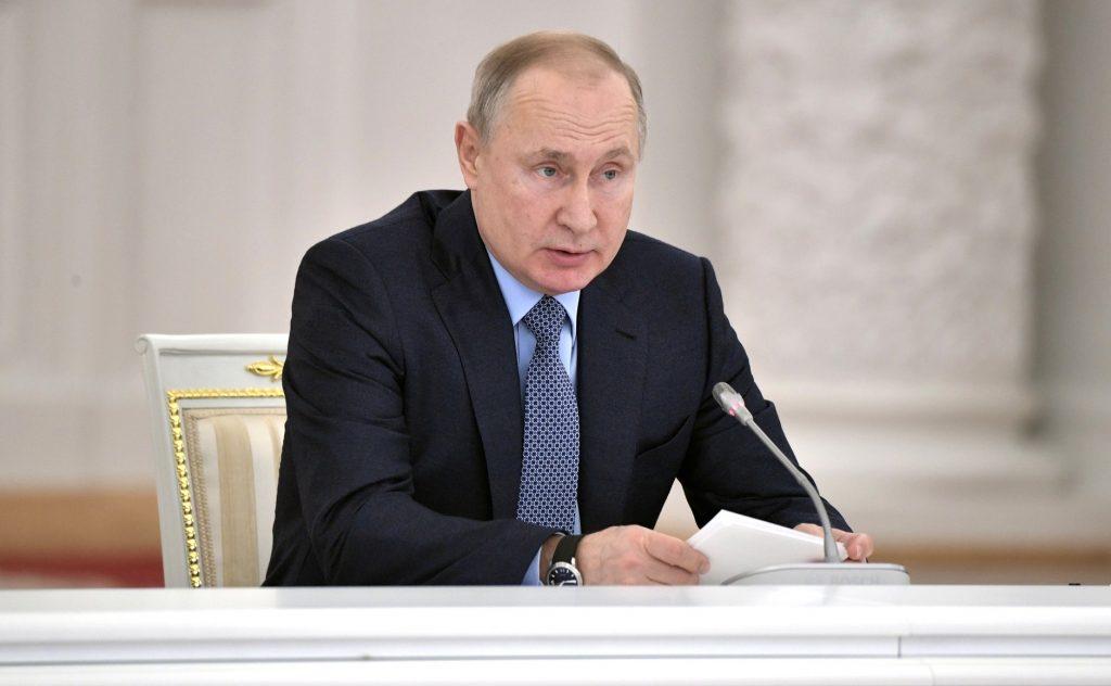 Путин: Россия благодарна США за помощь в предотвращении теракта в Петербурге