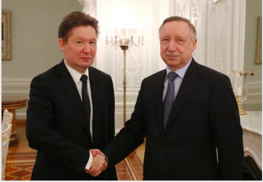 «Газпром» продолжит благоустраивать улицы Центрального и Петроградского районов