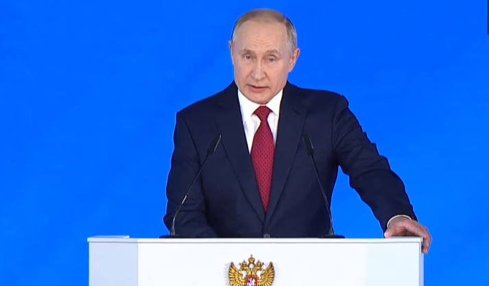 Путин заявил, что Россия защищена на ближайшие десятилетие