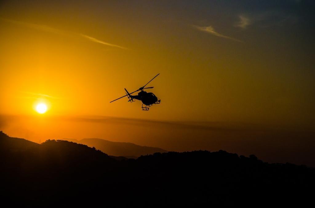 В Африке произошло крушение вертолета с военными специалистами из России