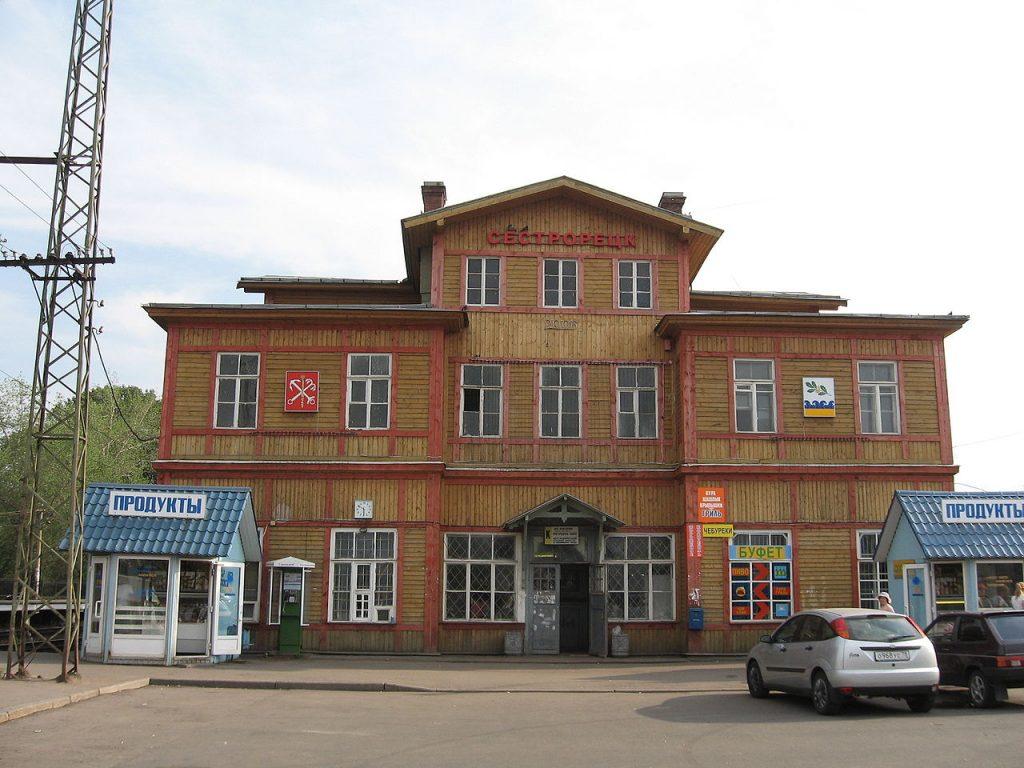 Зал ожидания вокзала в Сестрорецке закроют на реконструкцию