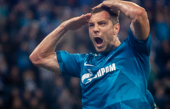 Дзюба получил травму на матче с «Динамо»