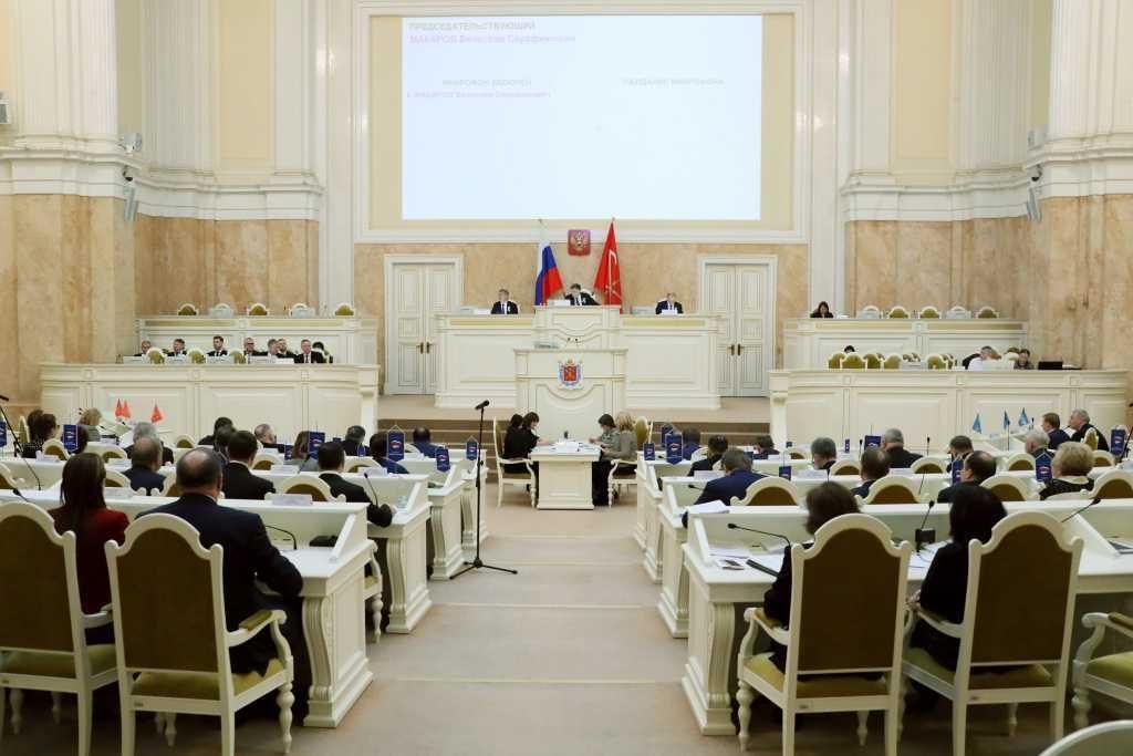 ЗакС Петербурга в первом чтении принял законопроект о Генплане