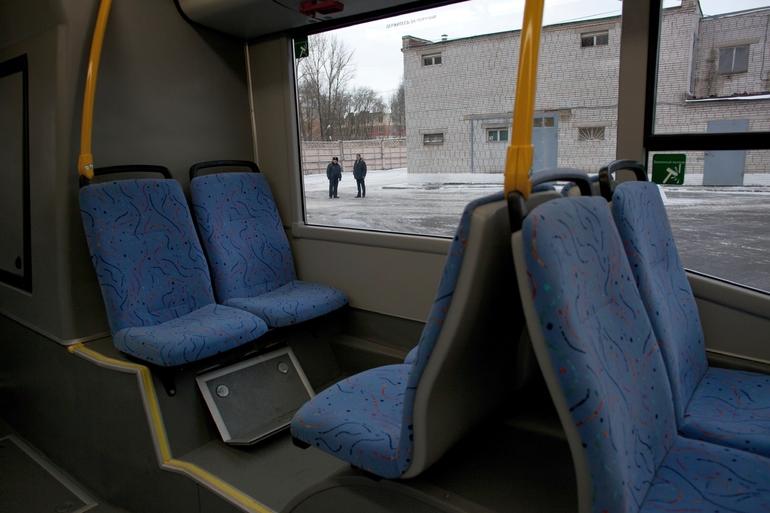 В Петербурге появилось 65 новых автобусов на экологичном топливе
