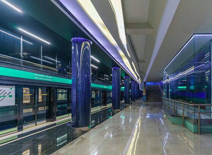 Станцию «Новокрестовская» решили назвать «Зенит»