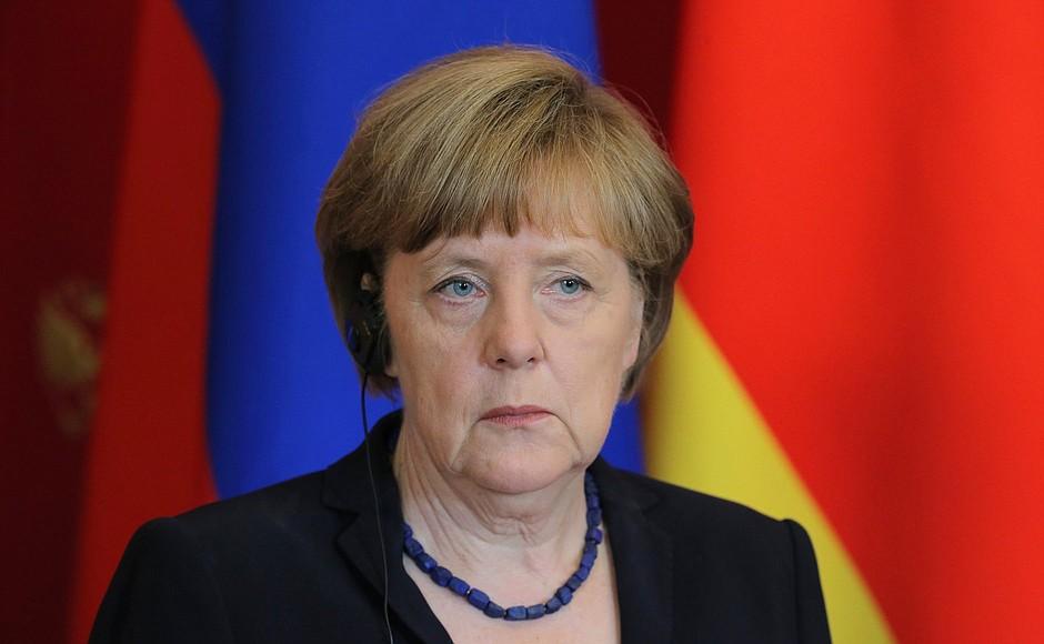 Меркель: Германия поддерживает «Северный поток — 2»