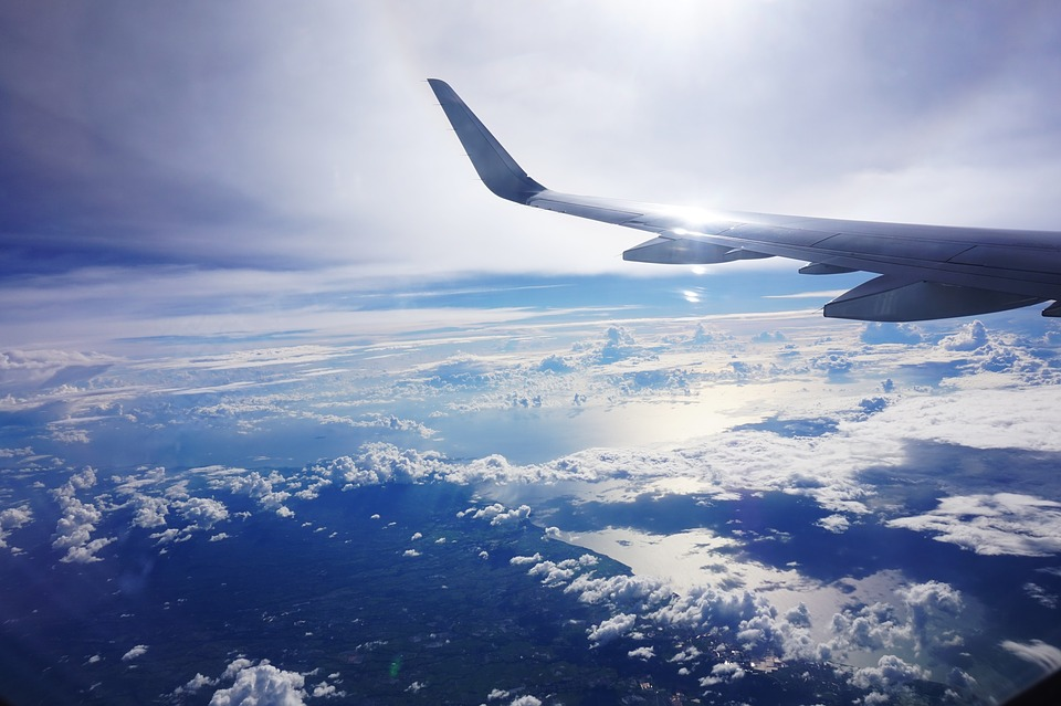 Фото в небе с самолета лучшие