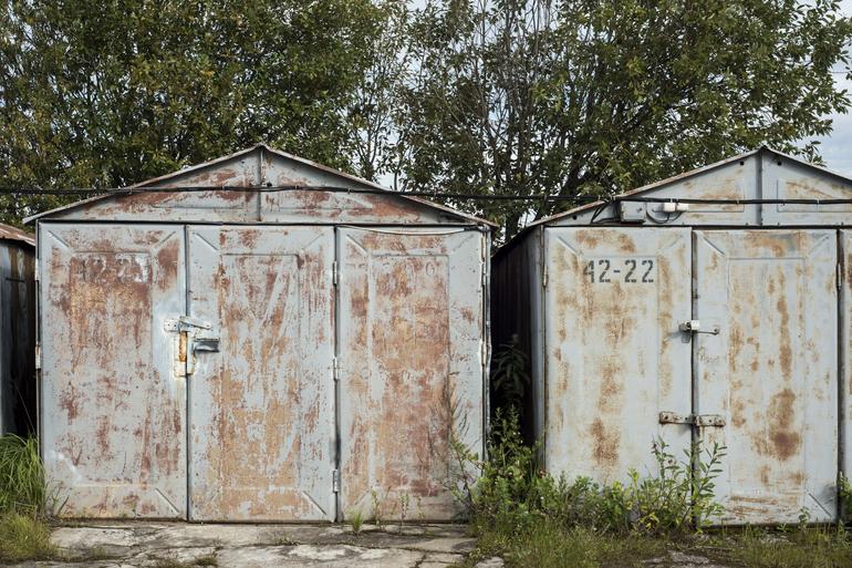 На Богайчува вспыхнул гараж: его тушили 10 человек