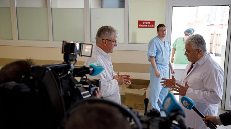 Федеральный стационар для больных коронавирусом открыли в Петербурге
