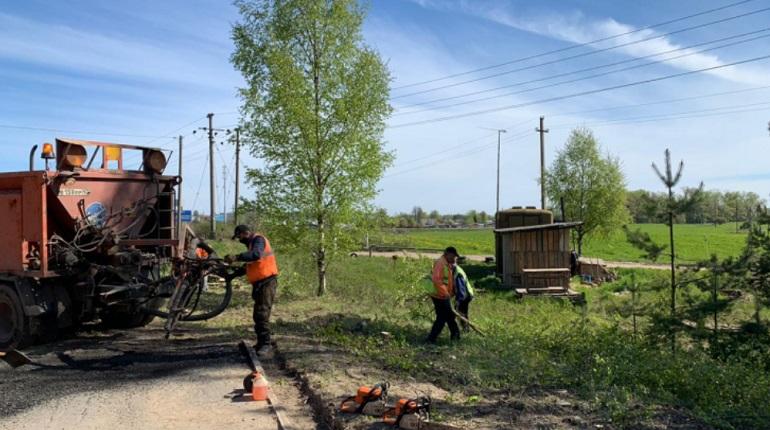 Безработные жители Ленобласти вышли на общественные работы