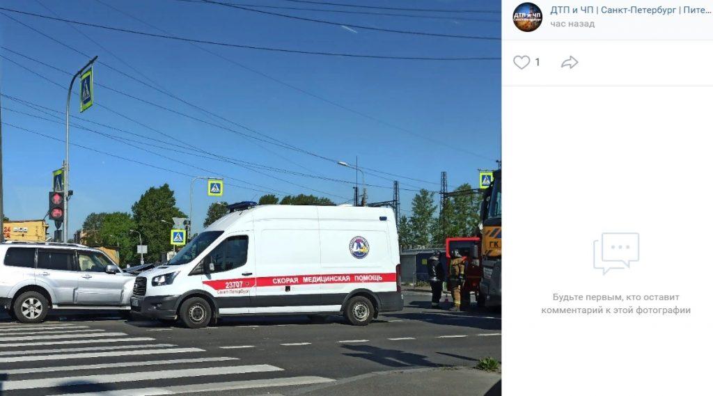 В ДТП на дорогах Петербурга за минувшие сутки погибли три человека