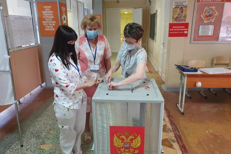 Больше 40 млн россиян проголосовали по поправкам в Конституцию