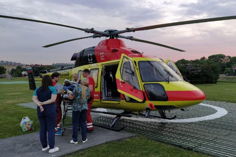 Санавиация помогла трем пациентам в Ленобласти