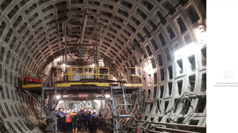 Следователи проверяют гибель рабочего на стройке станции метро «Горный институт»