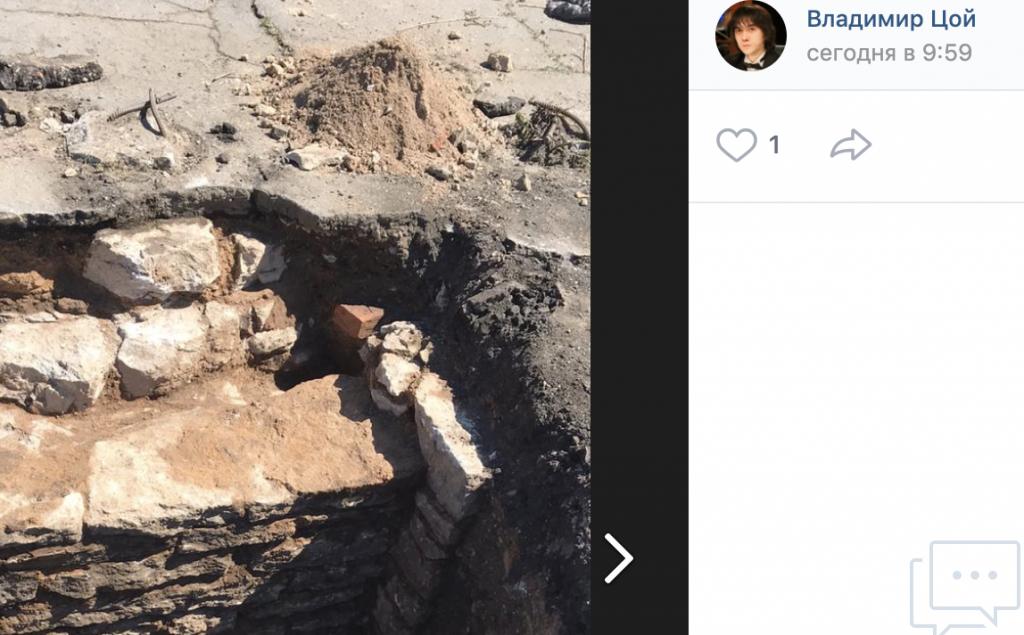В Ивангороде обнаружили остатки разрушенных во времена ВОВ церквей