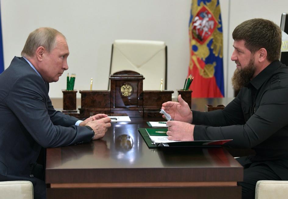 Кадыров предложил избрать Путина президентом России пожизненно
