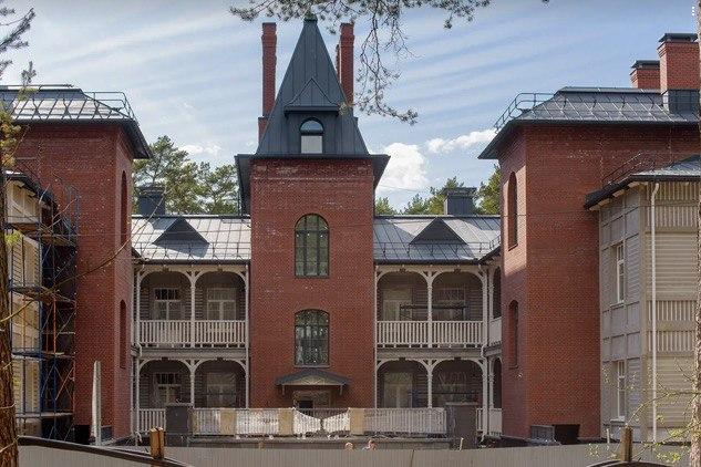 «Сестрорецкий курорт» возвращает облик времен Серебряного века
